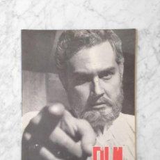 Cine: FILM IDEAL - Nº 30 - 1959 - JAVIER ESCRIVA, JOHN STEINBECK. Lote 234649055