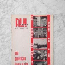 Cine: FILM IDEAL - Nº 31 - 1959 - UNA GENERACION FRENTE AL CINE, OSCARS 1958, SISSI, CINE RELIGIOSO. Lote 234655130
