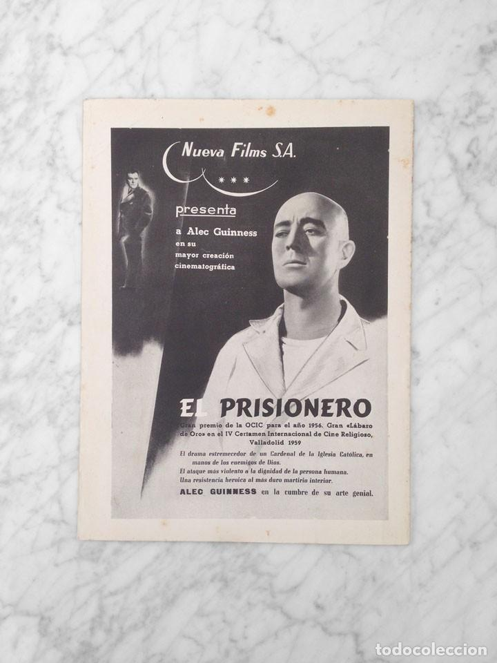 Cine: FILM IDEAL - Nº 31 - 1959 - UNA GENERACION FRENTE AL CINE, OSCARS 1958, SISSI, CINE RELIGIOSO - Foto 2 - 234655130