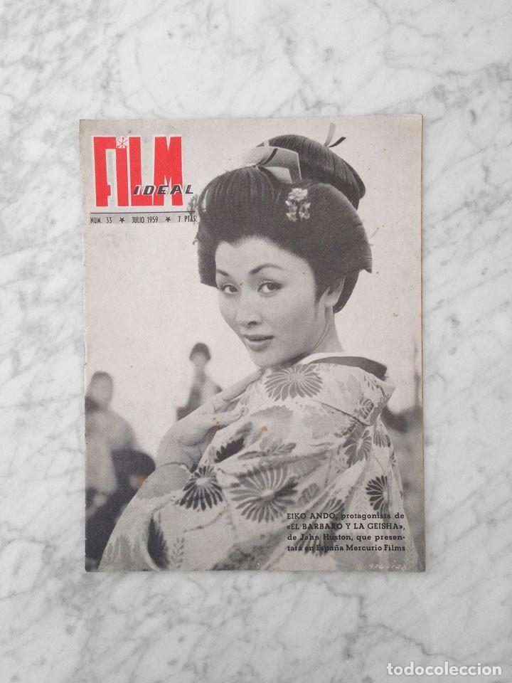 FILM IDEAL - Nº 33 - 1959 - EIKO ANDO, CANNES (Cine - Revistas - Film Ideal)