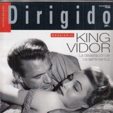 Cine: REVISTA DIRIGIDO POR Nº 483 AÑO 2017. KIN VIDOR 1ª PARTE. WONDER WHEEL. THE DISASTER ARTIST. COCO.. Lote 234743300