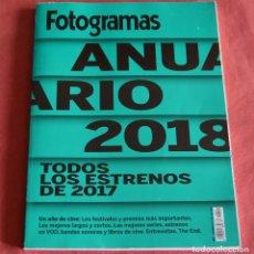 Cine: ANUARIO FOTOGRAMAS - 2018. Lote 234872475
