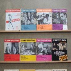 Cine: AAQ23 REVISTA CINESTUDIO 12 EJEMPLARES 14 NUMEROS DE 1970 A 1973. Lote 234891890