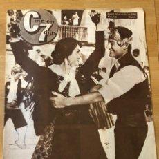 Cine: REVISTA CINE EN 7 DÍAS 1964 VICENTE PARRA NOBLEZA BATURRA.RITA HAYWORTH ANTHONY PERKINS. Lote 235083115
