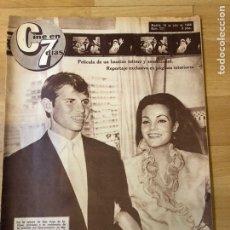 Cine: REVISTA CINE EN 7 DÍAS 1964 CARMEN SEVILLA EL CORDOBÉS MARISOL PEPA FLORES CONCHITA VELASCO. Lote 235084265