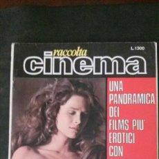 Cinéma: RACCOLTA CINEMA-ORSON WELLES-PASOLINI-PETER SELLERS-JAMES BOND-USCHI DIGART-RENÉ BOND-JULIE EGE. Lote 235520045