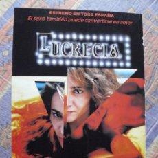 Cinéma: 15 CARTELES DIFERENTES PELÍCULAS DE 80-90-00 TAMAÑO FOLIO (VER DESCRIPCIÓN Y FOTOS ) ESPAÑOL LOTE 6. Lote 235676995