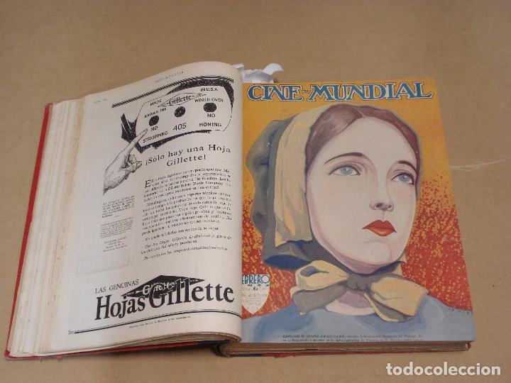 Cine: CINE MUNDIAL REVISTA AMERICANA en ESPAÑOL TOMO ENCUADERNADO FEBRERO 1925 + ENERO DIC 1927 13 NUMEROS - Foto 2 - 235681100