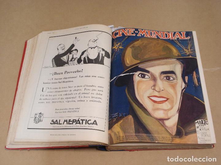 Cine: CINE MUNDIAL REVISTA AMERICANA en ESPAÑOL TOMO ENCUADERNADO FEBRERO 1925 + ENERO DIC 1927 13 NUMEROS - Foto 3 - 235681100
