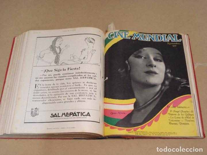 Cine: CINE MUNDIAL REVISTA AMERICANA en ESPAÑOL TOMO ENCUADERNADO FEBRERO 1925 + ENERO DIC 1927 13 NUMEROS - Foto 8 - 235681100