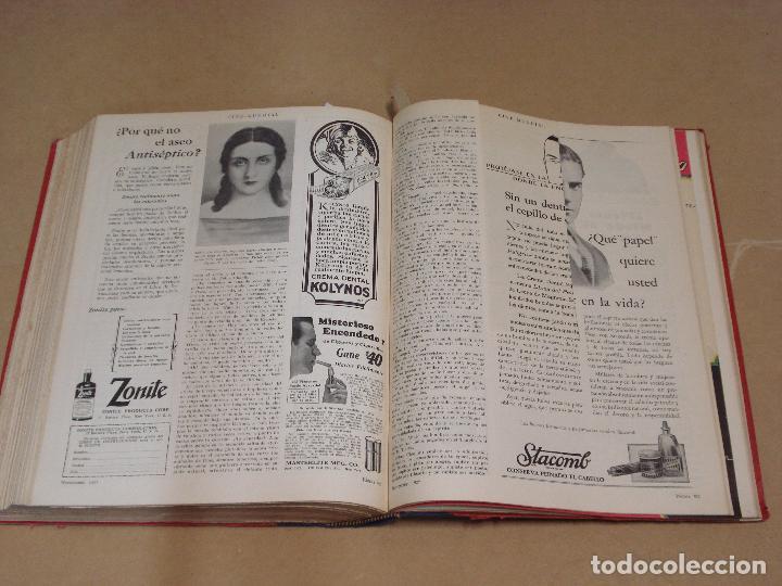 Cine: CINE MUNDIAL REVISTA AMERICANA en ESPAÑOL TOMO ENCUADERNADO FEBRERO 1925 + ENERO DIC 1927 13 NUMEROS - Foto 9 - 235681100