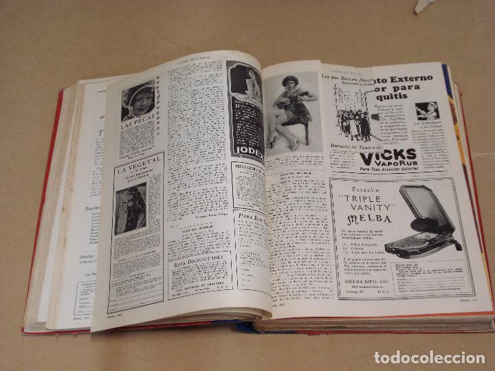 Cine: CINE MUNDIAL REVISTA AMERICANA en ESPAÑOL TOMO ENCUADERNADO FEBRERO 1925 + ENERO DIC 1927 13 NUMEROS - Foto 11 - 235681100