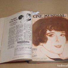 Cine: CINE MUNDIAL REVISTA AMERICANA EN ESPAÑOL TOMO ENCUADERNADO FEBRERO 1925 + ENERO DIC 1927 13 NUMEROS. Lote 235681100