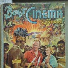 Cine: LA MOMIA BORIS KARLOFF BOY'S CINEMA ANNUAL 1934 REVISTA ANUARIO INGLESA TAPA DURA 1934. Lote 235692095