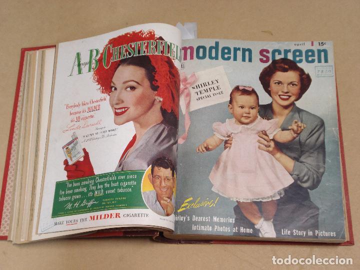 Cine: MODERN SCREEN REVISTA AMERICANA TOMO ENCUADERNADO ENERO A DICIEMBRE 1949 - Foto 3 - 235694050