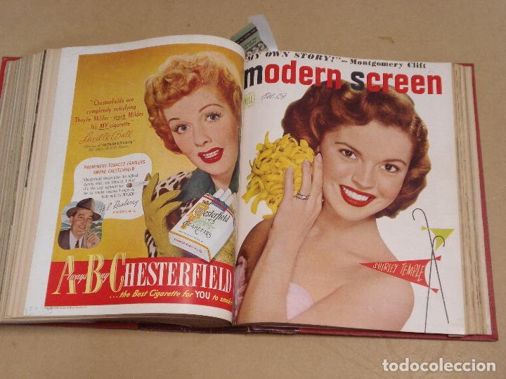 Cine: MODERN SCREEN REVISTA AMERICANA TOMO ENCUADERNADO ENERO A DICIEMBRE 1949 - Foto 4 - 235694050