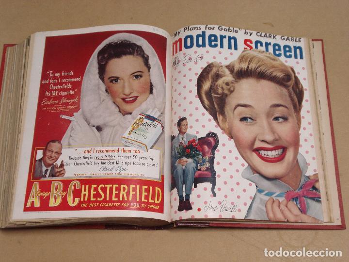 Cine: MODERN SCREEN REVISTA AMERICANA TOMO ENCUADERNADO ENERO A DICIEMBRE 1949 - Foto 6 - 235694050