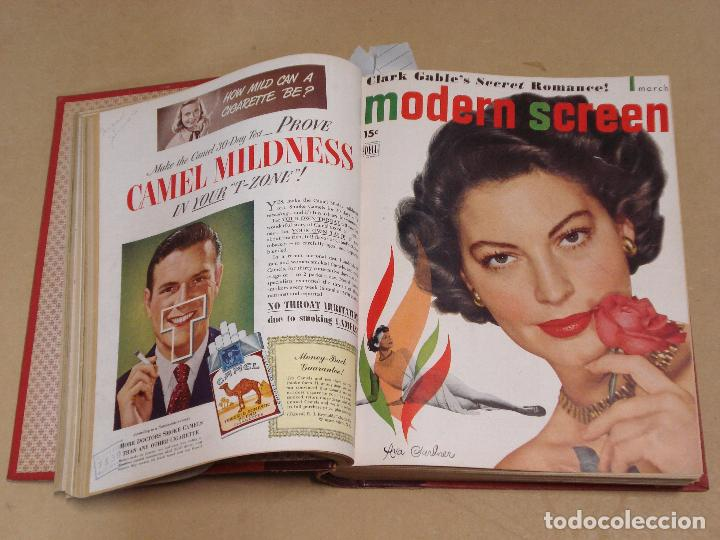 MODERN SCREEN REVISTA AMERICANA TOMO ENCUADERNADO ENERO A DICIEMBRE 1949 (Cine - Revistas - Otros)