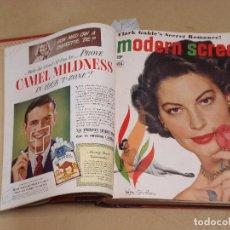 Cine: MODERN SCREEN REVISTA AMERICANA TOMO ENCUADERNADO ENERO A DICIEMBRE 1949. Lote 235694050