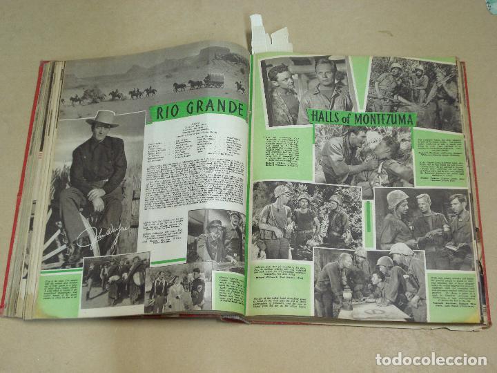 Cine: PICTURE SHOW REVISTA INGLESA TOMO ENCUADERNADO 18 NÚMEROS DE 1950 Y 1951 - Foto 3 - 235700080