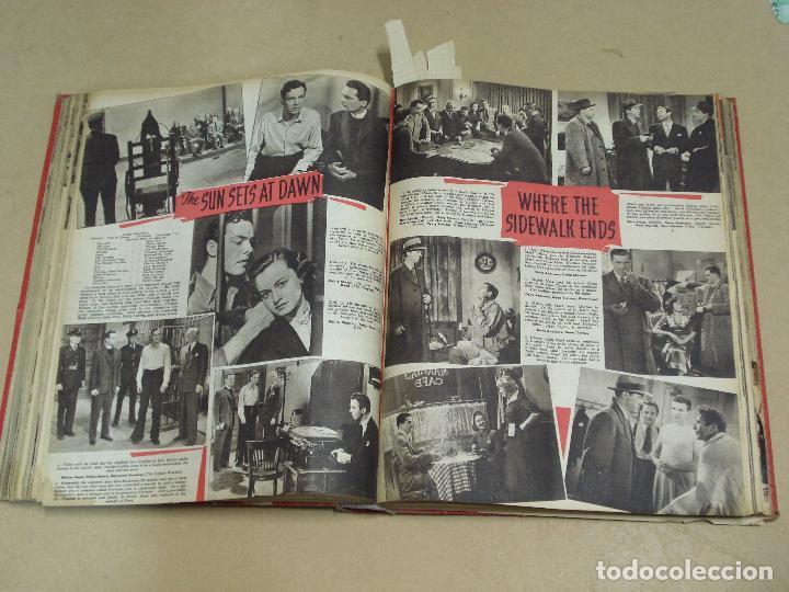 Cine: PICTURE SHOW REVISTA INGLESA TOMO ENCUADERNADO 18 NÚMEROS DE 1950 Y 1951 - Foto 4 - 235700080