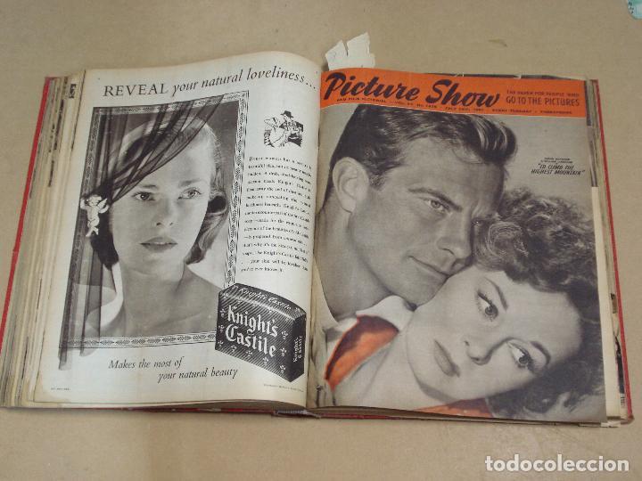 Cine: PICTURE SHOW REVISTA INGLESA TOMO ENCUADERNADO 18 NÚMEROS DE 1950 Y 1951 - Foto 5 - 235700080
