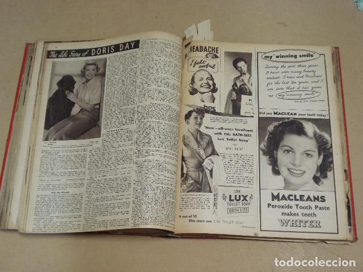 Cine: PICTURE SHOW REVISTA INGLESA TOMO ENCUADERNADO 18 NÚMEROS DE 1950 Y 1951 - Foto 6 - 235700080