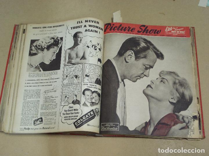 Cine: PICTURE SHOW REVISTA INGLESA TOMO ENCUADERNADO 18 NÚMEROS DE 1950 Y 1951 - Foto 7 - 235700080