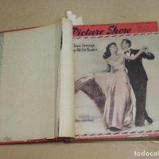 Cine: PICTURE SHOW REVISTA INGLESA TOMO ENCUADERNADO 18 NÚMEROS DE 1950 Y 1951. Lote 235700080