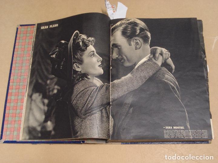 Cine: CAMARA REVISTA ESPAÑOLA TOMO ENCUADERNADO DE AGOSTO A DICIEMBRE DE 1944 Nº 38 A 47 - Foto 2 - 235702195