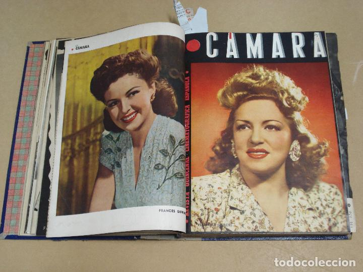 Cine: CAMARA REVISTA ESPAÑOLA TOMO ENCUADERNADO DE AGOSTO A DICIEMBRE DE 1944 Nº 38 A 47 - Foto 4 - 235702195