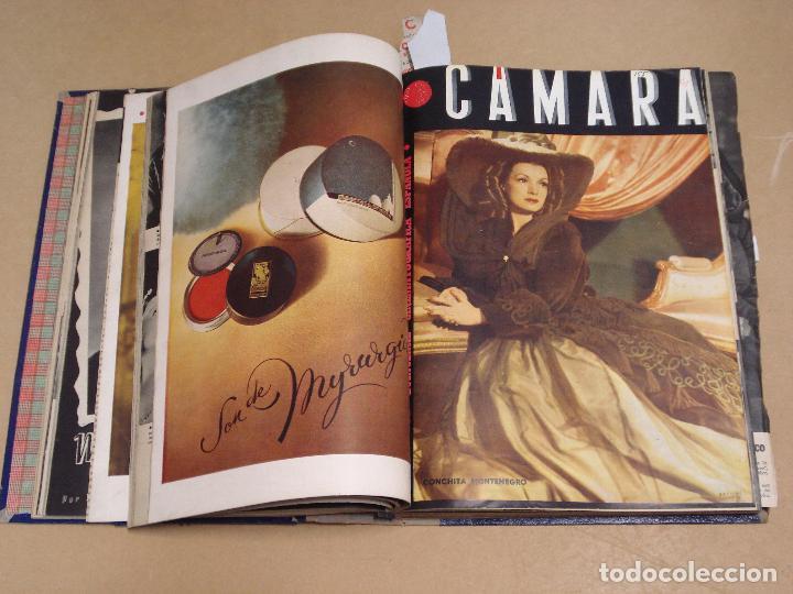 Cine: CAMARA REVISTA ESPAÑOLA TOMO ENCUADERNADO DE AGOSTO A DICIEMBRE DE 1944 Nº 38 A 47 - Foto 5 - 235702195