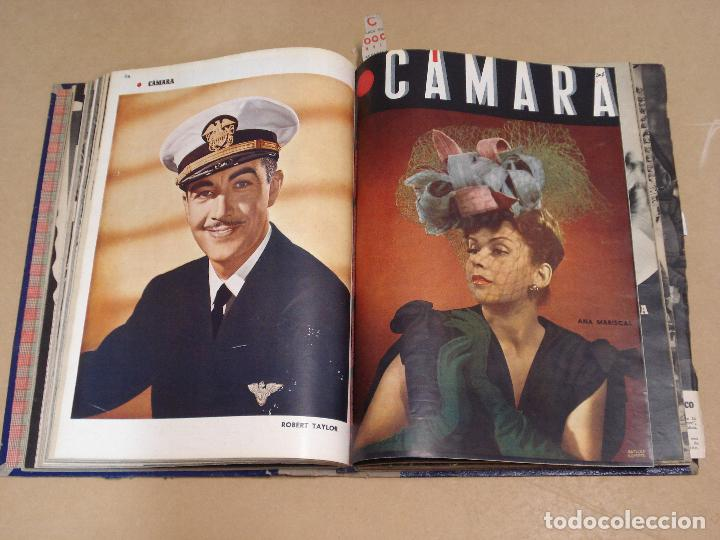 Cine: CAMARA REVISTA ESPAÑOLA TOMO ENCUADERNADO DE AGOSTO A DICIEMBRE DE 1944 Nº 38 A 47 - Foto 6 - 235702195