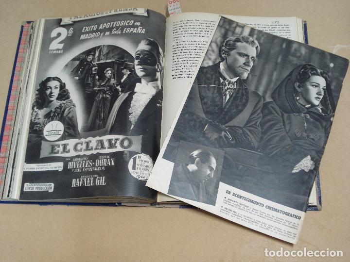 Cine: CAMARA REVISTA ESPAÑOLA TOMO ENCUADERNADO DE AGOSTO A DICIEMBRE DE 1944 Nº 38 A 47 - Foto 8 - 235702195