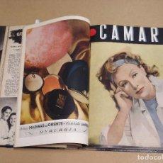 Cine: CAMARA REVISTA ESPAÑOLA TOMO ENCUADERNADO DE AGOSTO A DICIEMBRE DE 1944 Nº 38 A 47. Lote 235702195