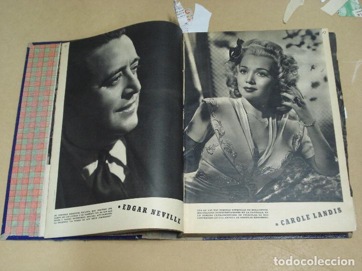 Cine: CAMARA REVISTA ESPAÑOLA TOMO ENCUADERNADO DE AGOSTO A DICIEMBRE DE 1944 Nº 38 A 47 - Foto 3 - 235702195