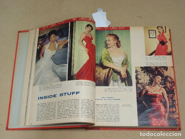 Cine: PHOTOPLAY REVISTA AMERICANA TOMO ENCUADERNADO 6 NUMEROS 1955 LEIGH KELLY REYNOLDS NOVAK DAY - Foto 2 - 235702870