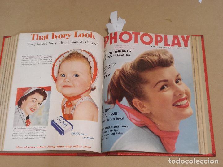 Cine: PHOTOPLAY REVISTA AMERICANA TOMO ENCUADERNADO 6 NUMEROS 1955 LEIGH KELLY REYNOLDS NOVAK DAY - Foto 5 - 235702870