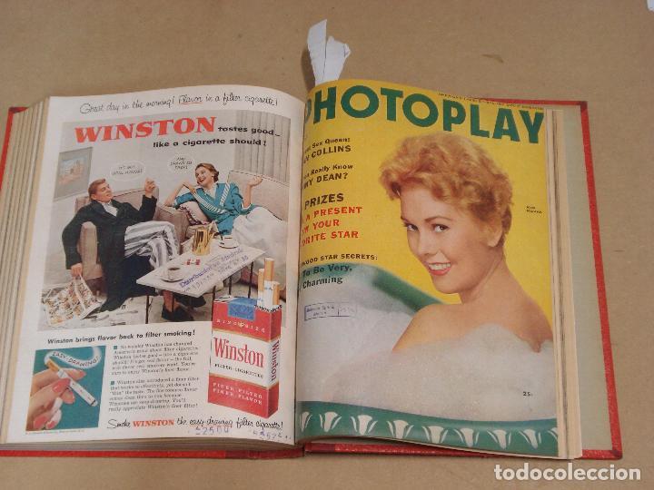 Cine: PHOTOPLAY REVISTA AMERICANA TOMO ENCUADERNADO 6 NUMEROS 1955 LEIGH KELLY REYNOLDS NOVAK DAY - Foto 6 - 235702870