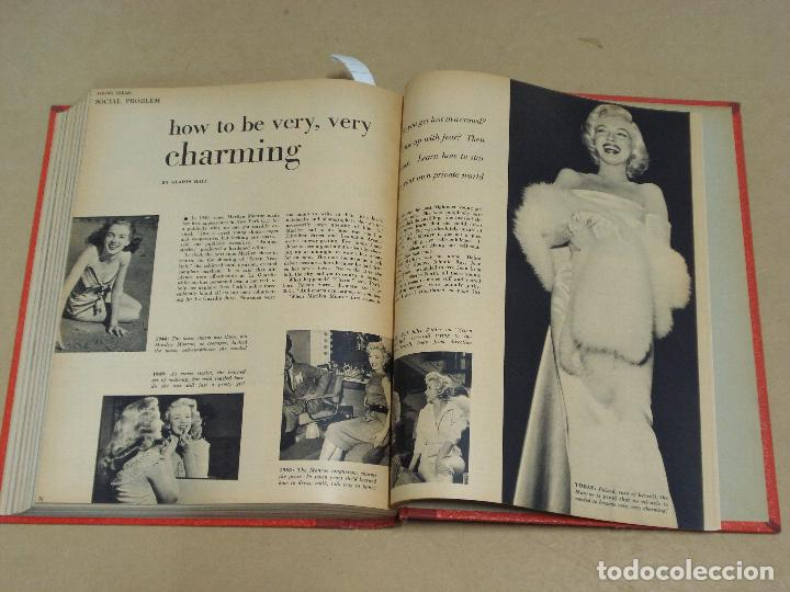Cine: PHOTOPLAY REVISTA AMERICANA TOMO ENCUADERNADO 6 NUMEROS 1955 LEIGH KELLY REYNOLDS NOVAK DAY - Foto 7 - 235702870