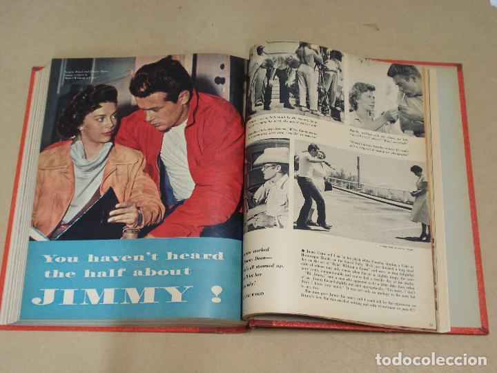 Cine: PHOTOPLAY REVISTA AMERICANA TOMO ENCUADERNADO 6 NUMEROS 1955 LEIGH KELLY REYNOLDS NOVAK DAY - Foto 8 - 235702870