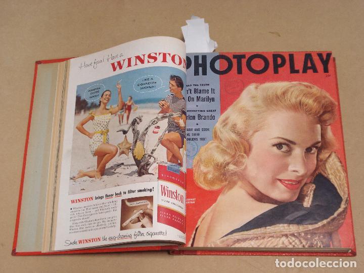 PHOTOPLAY REVISTA AMERICANA TOMO ENCUADERNADO 6 NUMEROS 1955 LEIGH KELLY REYNOLDS NOVAK DAY (Cine - Revistas - Otros)