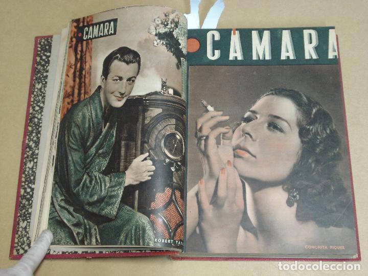 Cine: CAMARA REVISTA ESPAÑOLA TOMO ENCUADERNADO 12 NÚMEROS DE JUNIO DE 1942 a ABRIL DE 1944 Nº 9 A 31 - Foto 2 - 235703305