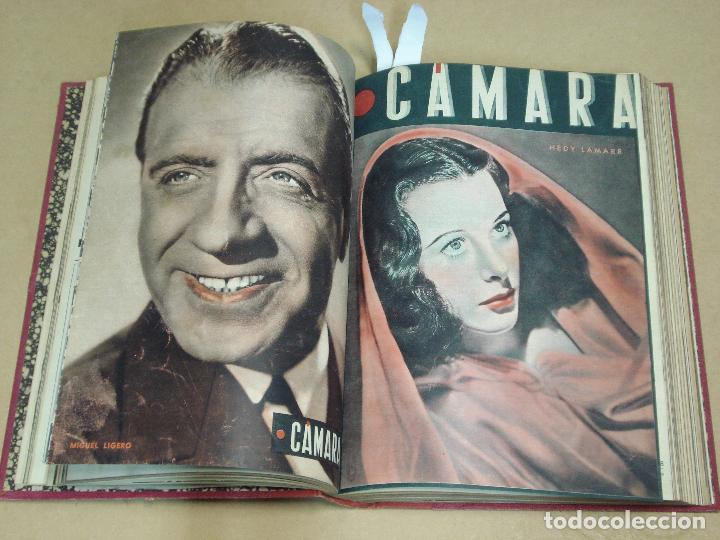 Cine: CAMARA REVISTA ESPAÑOLA TOMO ENCUADERNADO 12 NÚMEROS DE JUNIO DE 1942 a ABRIL DE 1944 Nº 9 A 31 - Foto 3 - 235703305