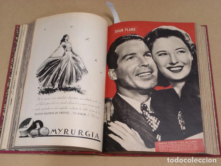Cine: CAMARA REVISTA ESPAÑOLA TOMO ENCUADERNADO 12 NÚMEROS DE JUNIO DE 1942 a ABRIL DE 1944 Nº 9 A 31 - Foto 5 - 235703305