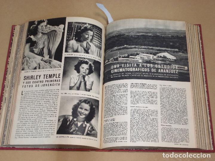 Cine: CAMARA REVISTA ESPAÑOLA TOMO ENCUADERNADO 12 NÚMEROS DE JUNIO DE 1942 a ABRIL DE 1944 Nº 9 A 31 - Foto 6 - 235703305