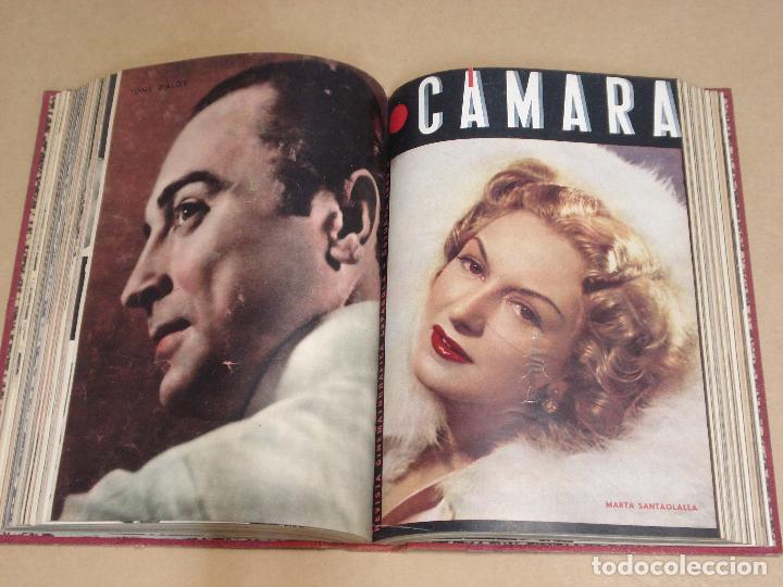 Cine: CAMARA REVISTA ESPAÑOLA TOMO ENCUADERNADO 12 NÚMEROS DE JUNIO DE 1942 a ABRIL DE 1944 Nº 9 A 31 - Foto 7 - 235703305