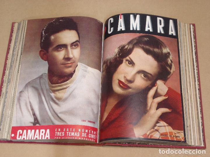 Cine: CAMARA REVISTA ESPAÑOLA TOMO ENCUADERNADO 12 NÚMEROS DE JUNIO DE 1942 a ABRIL DE 1944 Nº 9 A 31 - Foto 8 - 235703305