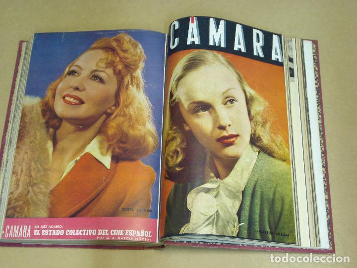 Cine: CAMARA REVISTA ESPAÑOLA TOMO ENCUADERNADO 12 NÚMEROS DE JUNIO DE 1942 a ABRIL DE 1944 Nº 9 A 31 - Foto 9 - 235703305