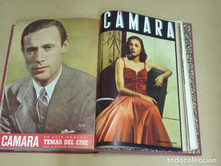 Cine: CAMARA REVISTA ESPAÑOLA TOMO ENCUADERNADO 12 NÚMEROS DE JUNIO DE 1942 a ABRIL DE 1944 Nº 9 A 31 - Foto 10 - 235703305